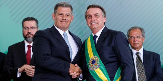 Áudio mostra a conversa entre o presidente da República, Jair Bolsonaro, com Gustavo Bebianno