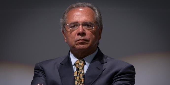Ministro da Economia, Paulo Guedes se reuniu com governador de Goiás, Ronaldo Caiado