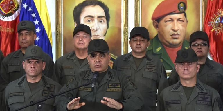 Força Armada da Venezuela reforçou lealdade a Maduro