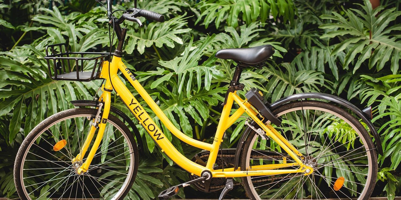 Bikes da Yellow poderão ser deixadas em qualquer ponto dentro do raio de atuação do serviço
