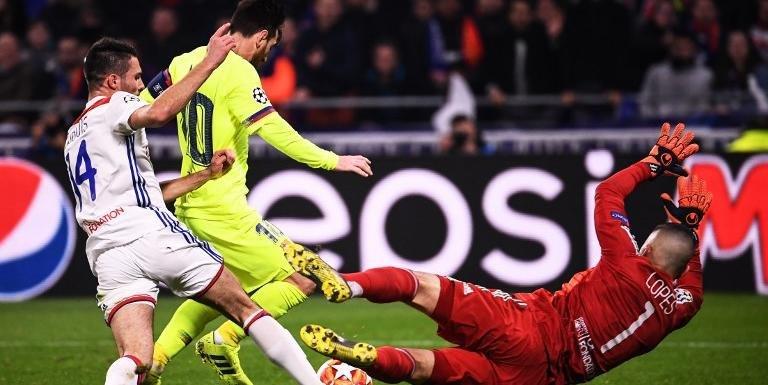 Barcelona e Lyon empataram por 0 a 0