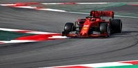 Ferrari segue dominando a pré-temporada