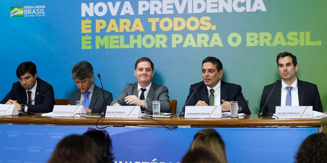 Equipe técnica detalhou a Reforma da Previdência elaborada pelo governo de Jair Bolsonaro