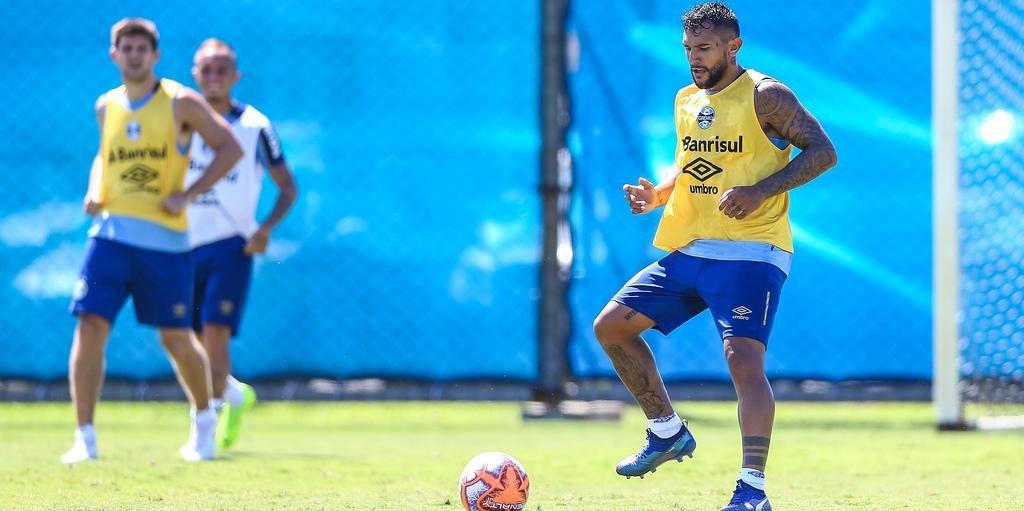 Walter Montoya está feliz com a adaptação que está tendo no Grêmio