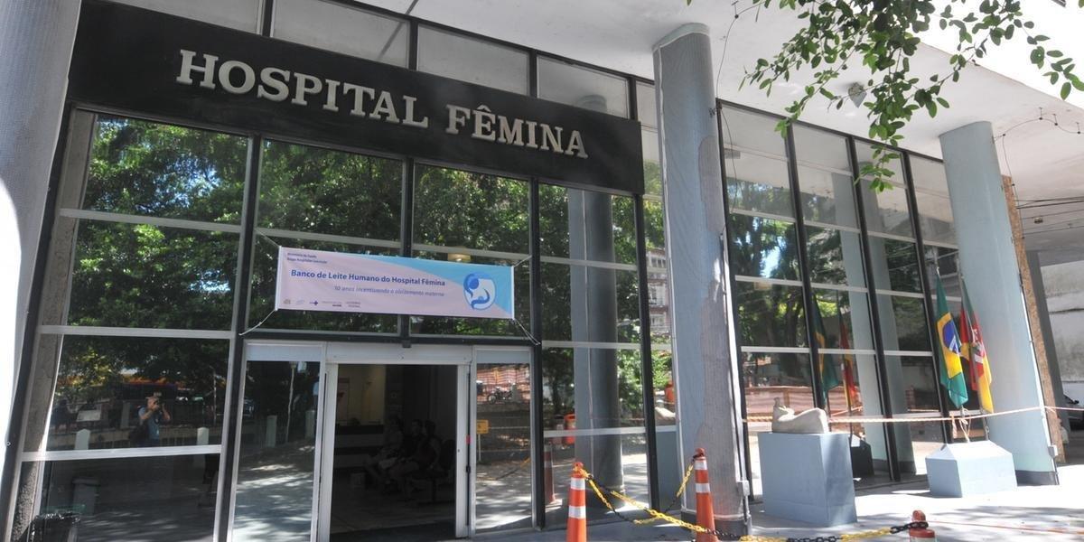 Incêndio atingiu o sexto andar do prédio do hospital no sábado passado
