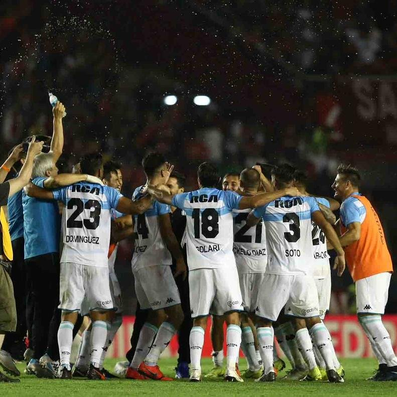 Racing venceu o Independiente fora de casa no clássico