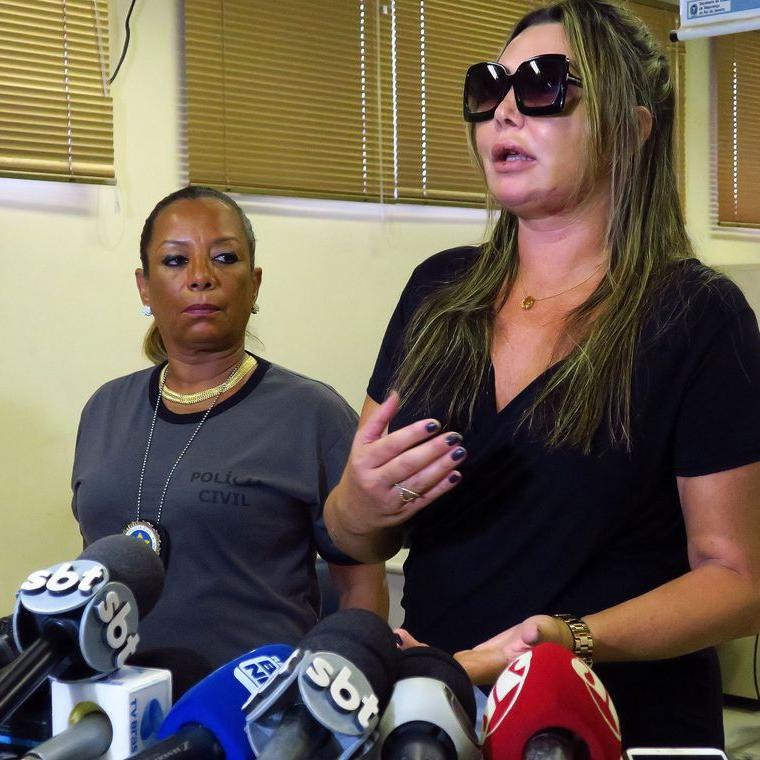 Ela prestou depoimento, nesta segunda, na 16ª Delegacia de Polícia, na Barra da Tijuca