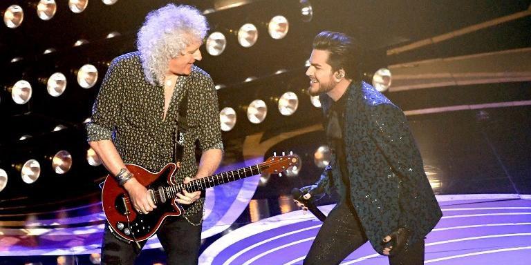 Queen e Adam Lambert se apresentaram na abertura do Oscar 2019