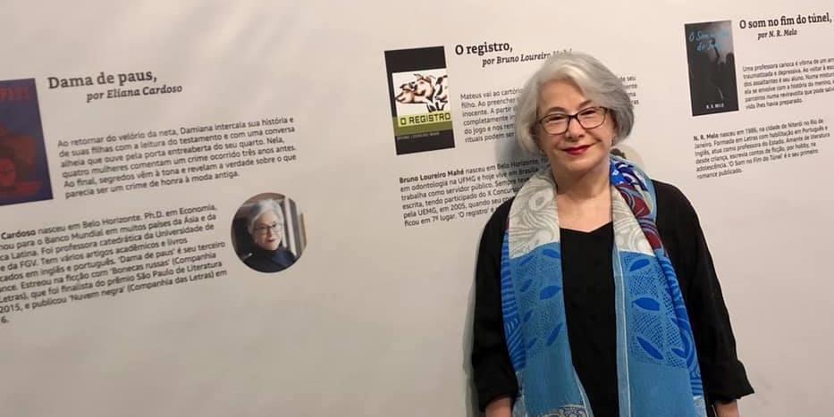 Eliana Cardoso ganhou o Prêmio Kindle de Literatura