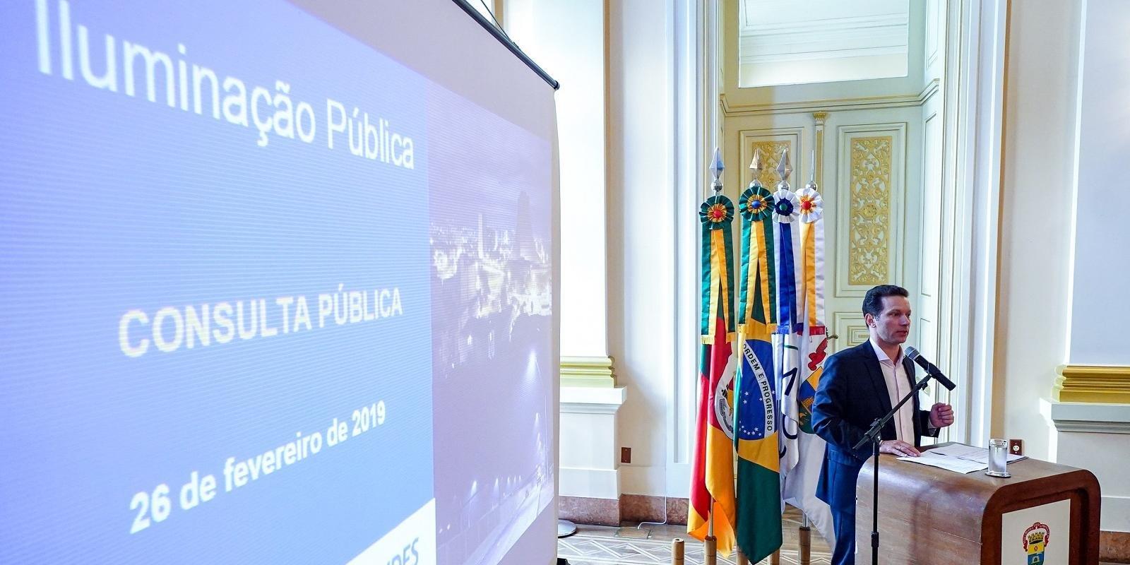 Prefeito salientou segurança jurídica do projeto da Capital