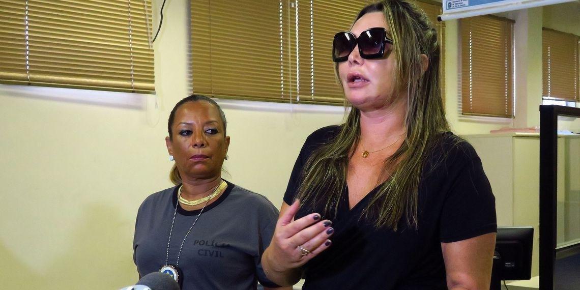 Paisagista Elaine Caparroz foi brutalmente agredida por Vinícius Serra