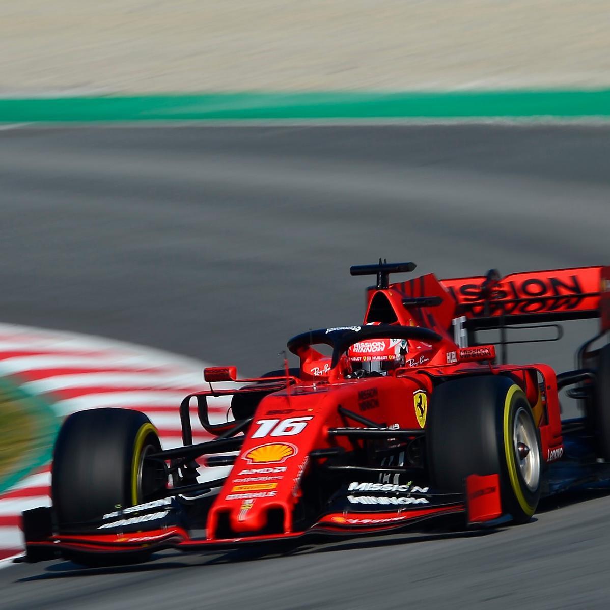Até o momento, ninguém pode com o ritmo da Ferrari em 2019