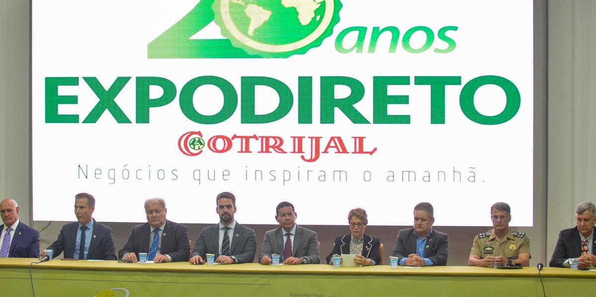 Ministra compareceu à abertura da Expodireto Cotrijal nesta segunda-feira