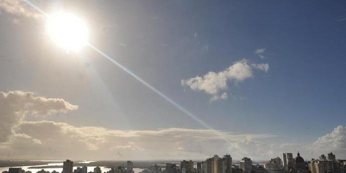 Máxima em Porto Alegre deve ser de 28ºC
