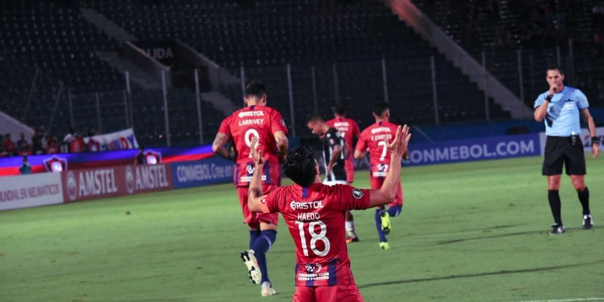 Cerro Porteño bate Zamora pelo Grupo E e complica o Atlético-MG