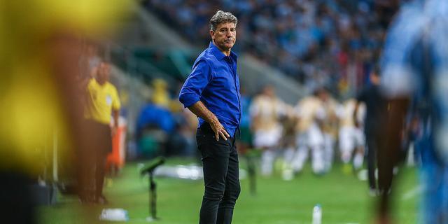 Renato Portaluppi não ficou satisfeito com atuação diante do Libertad