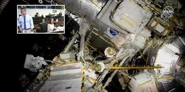 Dois astronautas da NASA iniciaram uma excursão no espaço de seis horas e meia