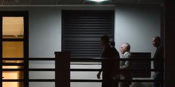 Temer está preso na sede da PF no Rio de Janeiro