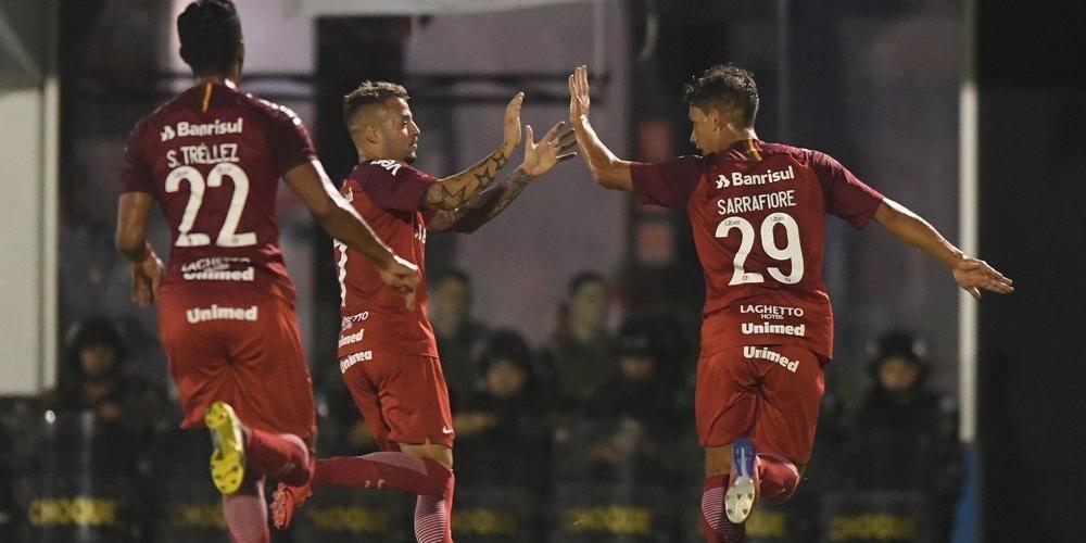 Nico e Sarrafiore marcaram os gols da vitória