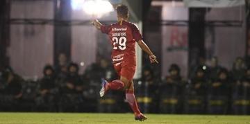 Jovem foi autor de um dos gols do Colorado no primeiro jogo das quartas de final do Gauchão