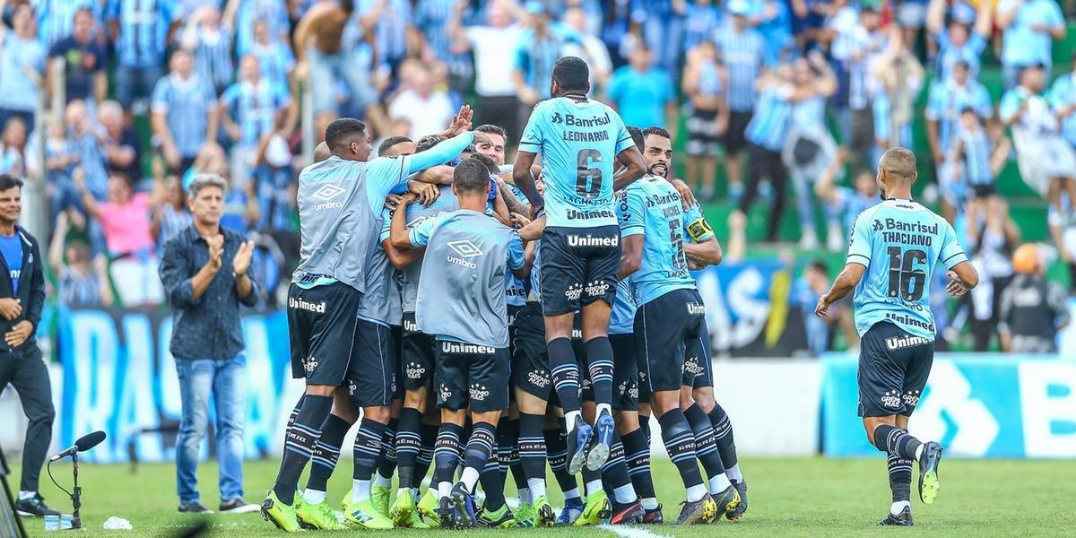 Grêmio fez 6 a 0 no Juventude neste domingo