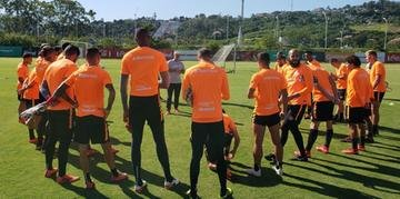 Grupo do Inter começou os trabalhos da semana nesta segunda-feira