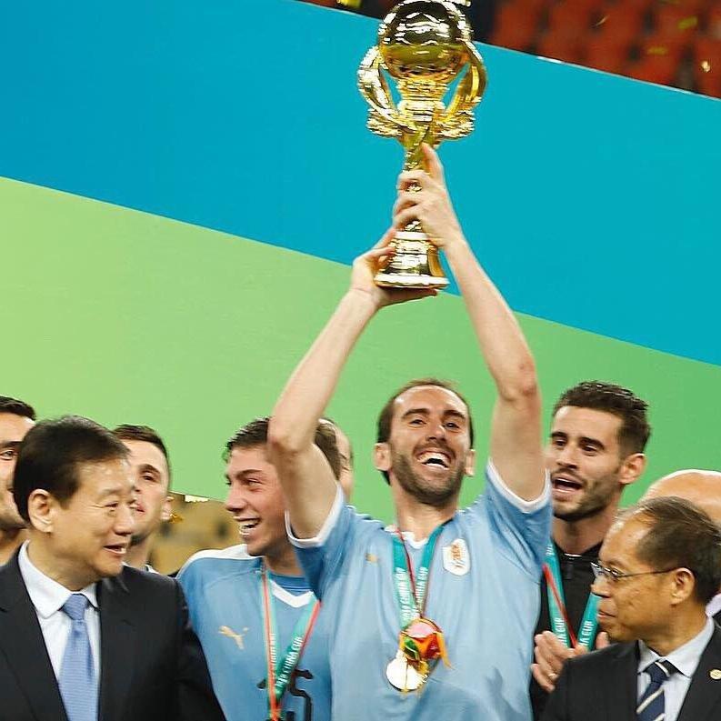 Uruguai ganhou torneio amistoso na China