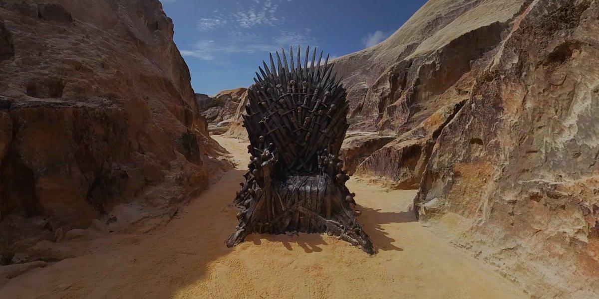 Quatro dos seis tronos já foram localizados