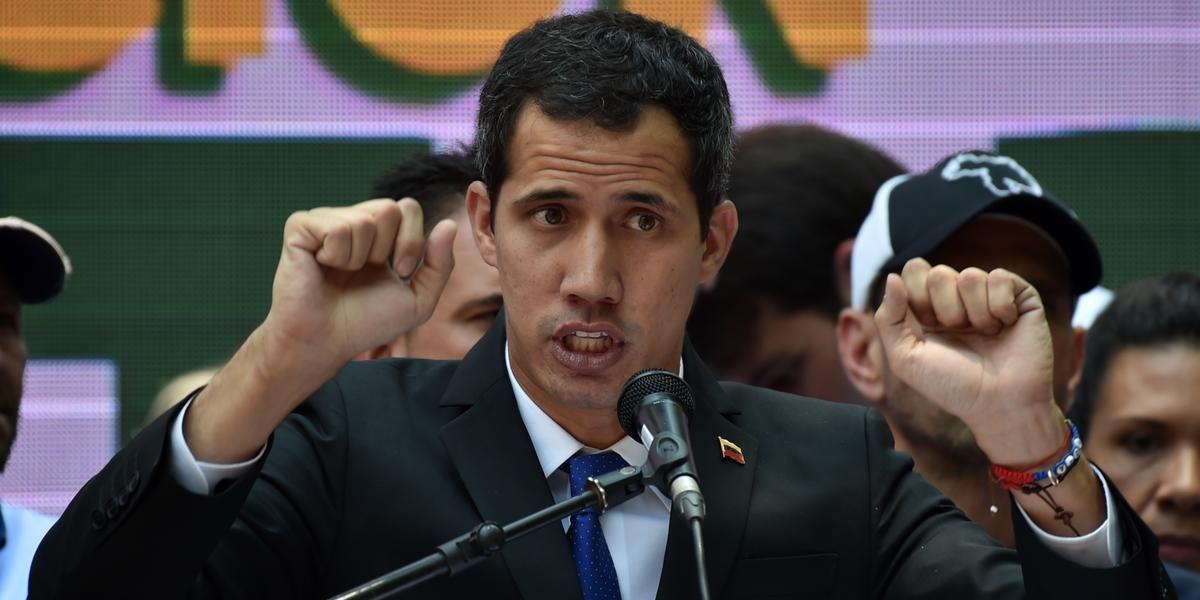 Guaidó foi inabilitado para ocupar cargos públicos durante 15 anos