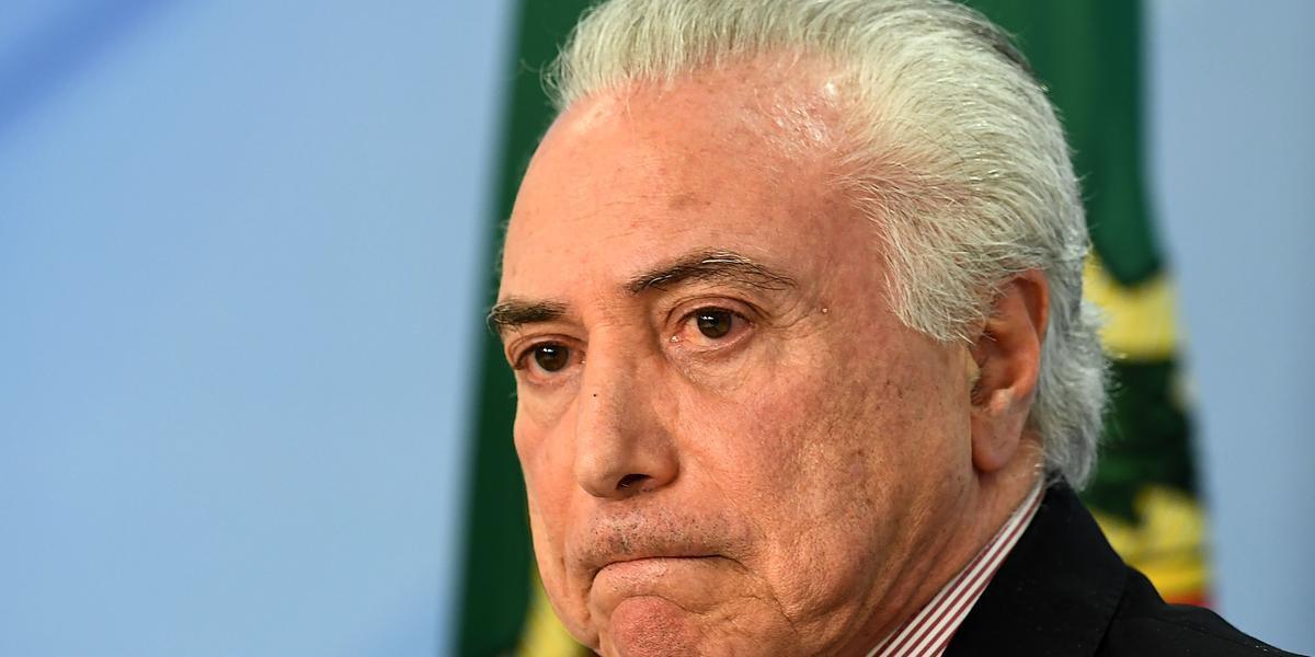 Ex-presidente é acusado de receber propina