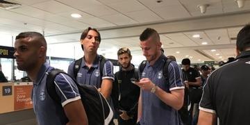 Alisson, Geromel, Capixaba e Paulo Vitor integram delegação do Grêmio que já chegou ao Chile