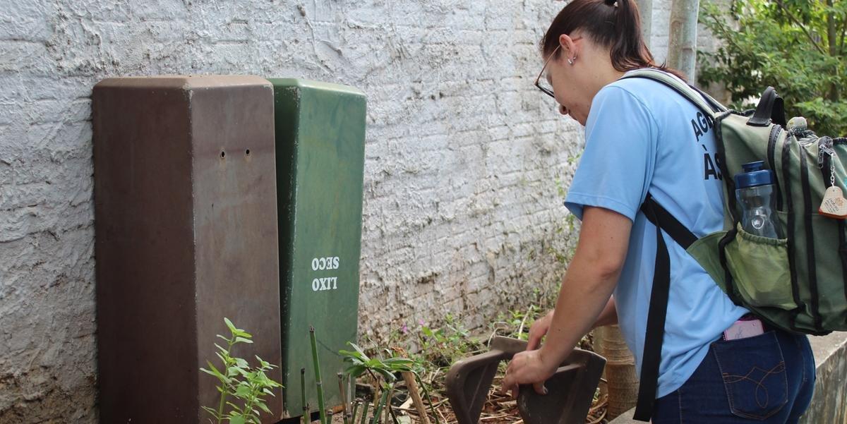 Fundação Municipal de Saúde pede que a população ajude a eliminar os criadouros do mosquito