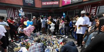 Rapper foi atingido por vários disparos em frente a sua loja de roupas
