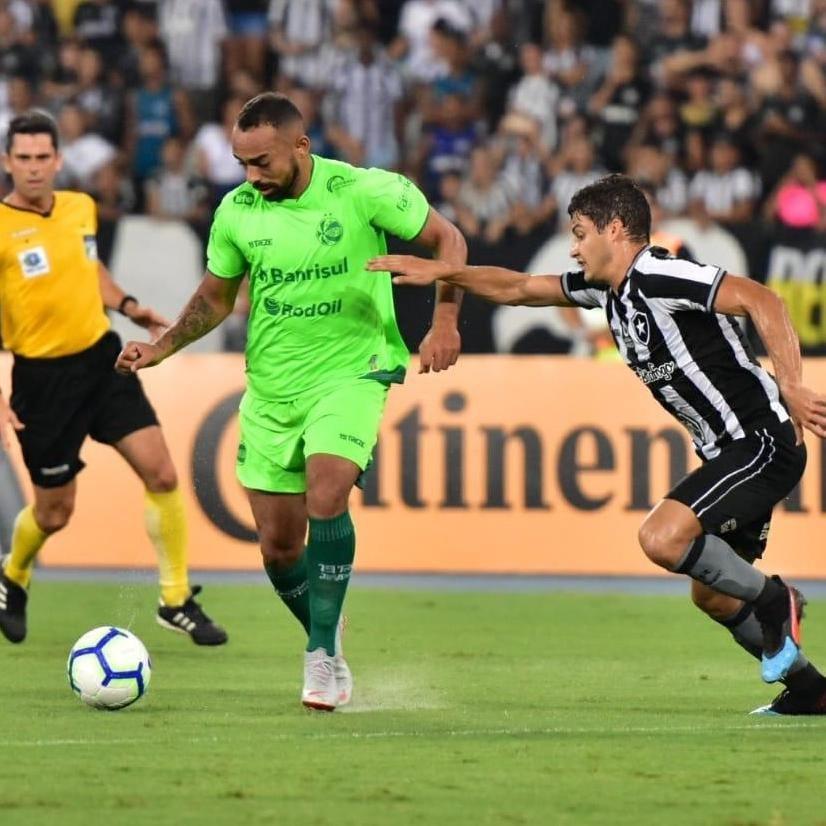 Juventude conseguiu segurar o empate em 1 a 1 com o Botafogo