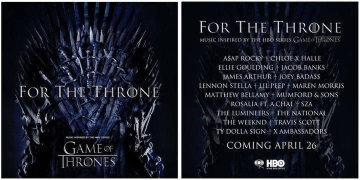 068615396 HBO anuncia álbum de músicas inspiradas em