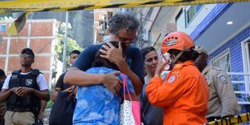 Número de vítimas devido à queda de prédios em Muzema chega a nove
