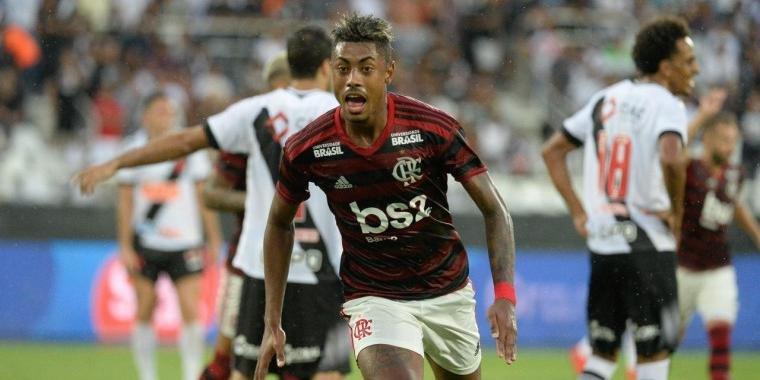 Bruno Henrique anotou os dois gols do Flamengo