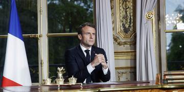 Macron assegurou que a catedral de Notre Dame será reconstruída