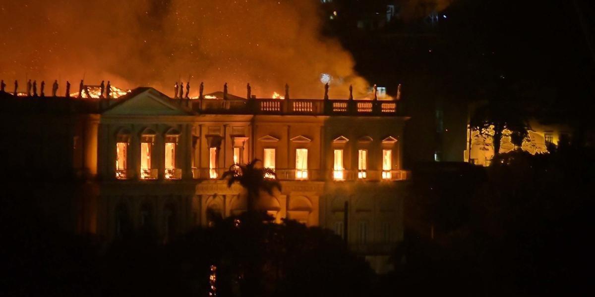 Incêndio que destruiu Museu Nacional ocorreu em setembro do ano passado