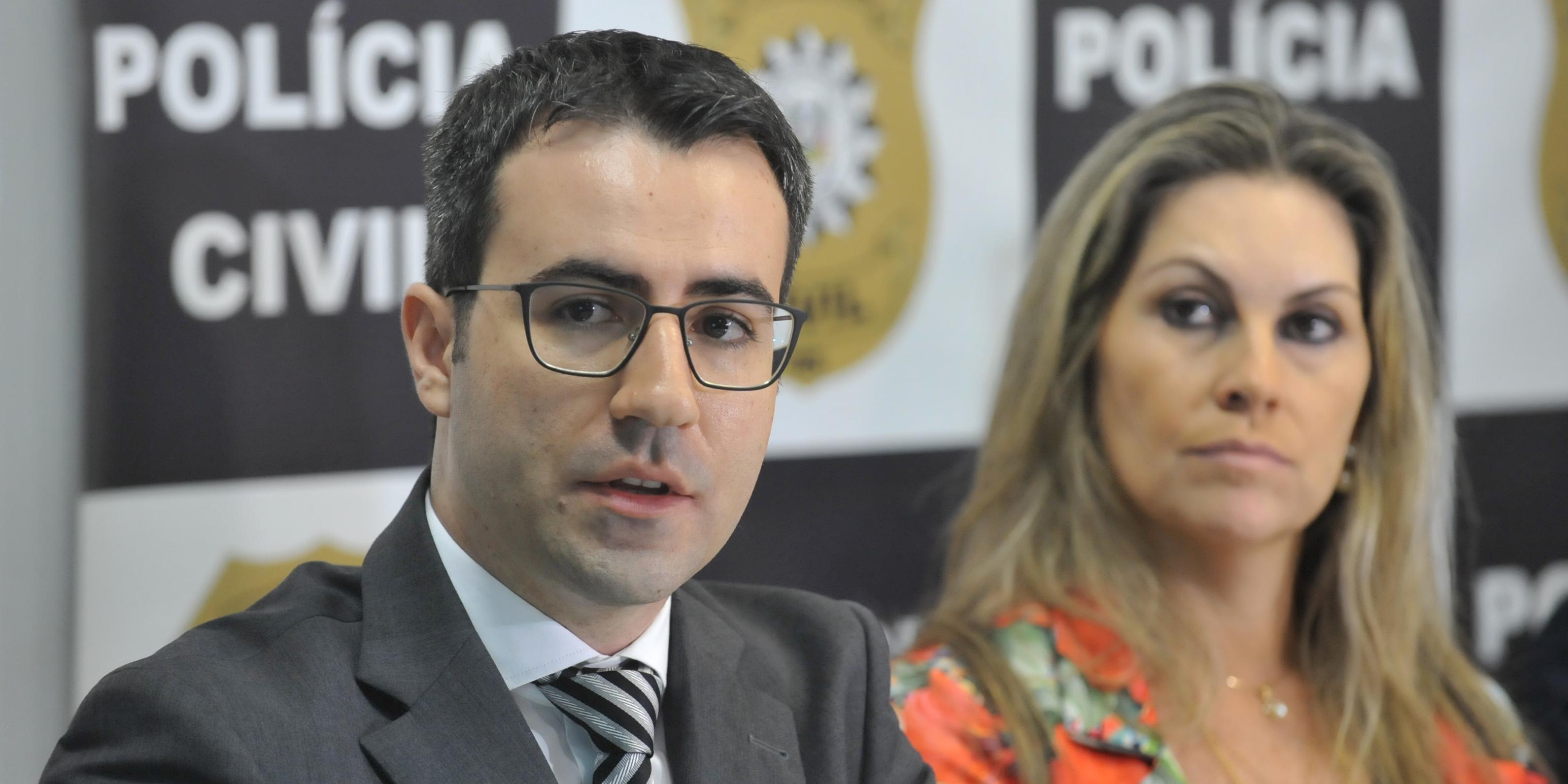 Delegado Márcio Niederauer lidera as investigações