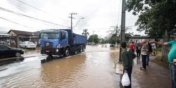 Chuva forte atingiu São Leopoldo entre sexta-feira e sábado