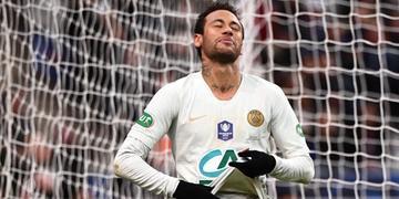 Neymar agrediu torcedor do Nantes após derrota em final