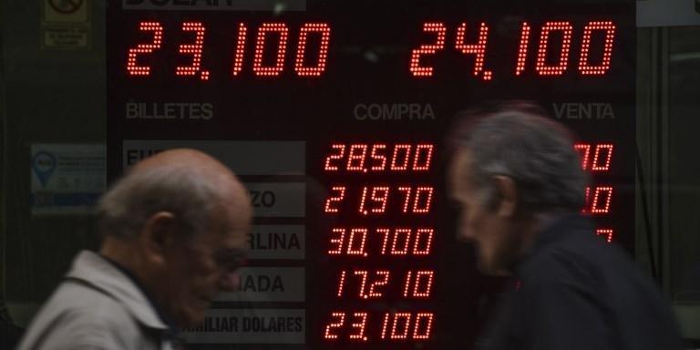 Argentina passa por séria crise financeira