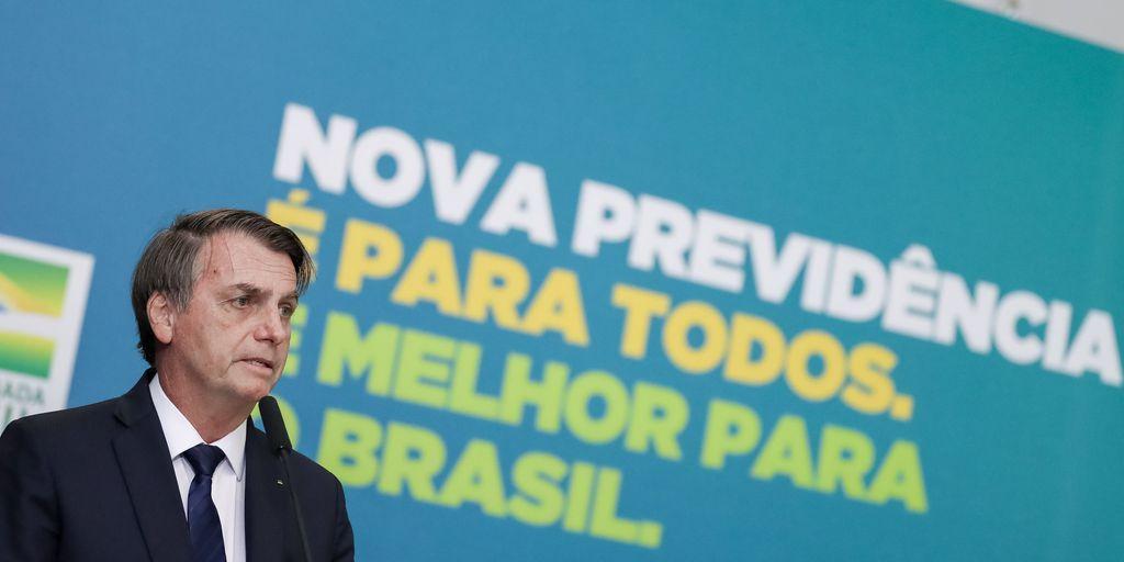 Jair Bolsonaro mudou o tom do discurso durante lançamento de campanha de comunicação da Reforma da Previdência