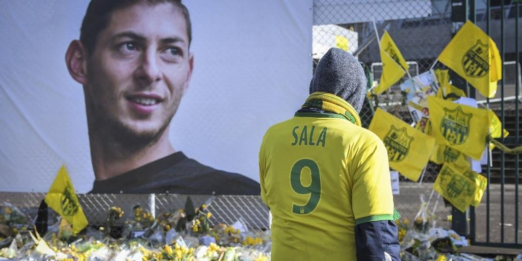 Jogador morreu em acidente aéreo ocorrido em janeiro