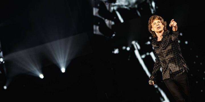 Rolling Stones retomam turnê após cirurgia de Mick Jagger