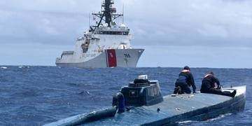 Drogas estavam em submarino próximo à Costa Oeste dos Estados Unidos