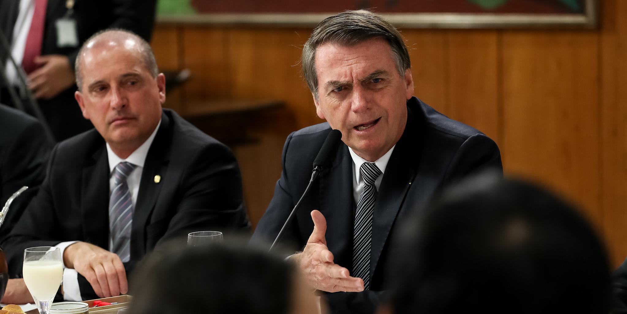 Jair Bolsonaro declarou também que ser