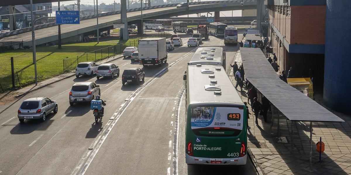Alterações no trânsito da rodoviária foram aplicadas neste mês