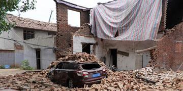 Impacto atingiu prédios vizinhos em um raio de 3 quilômetros